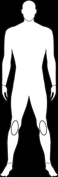 ヒザラジアルシート補強 楕円