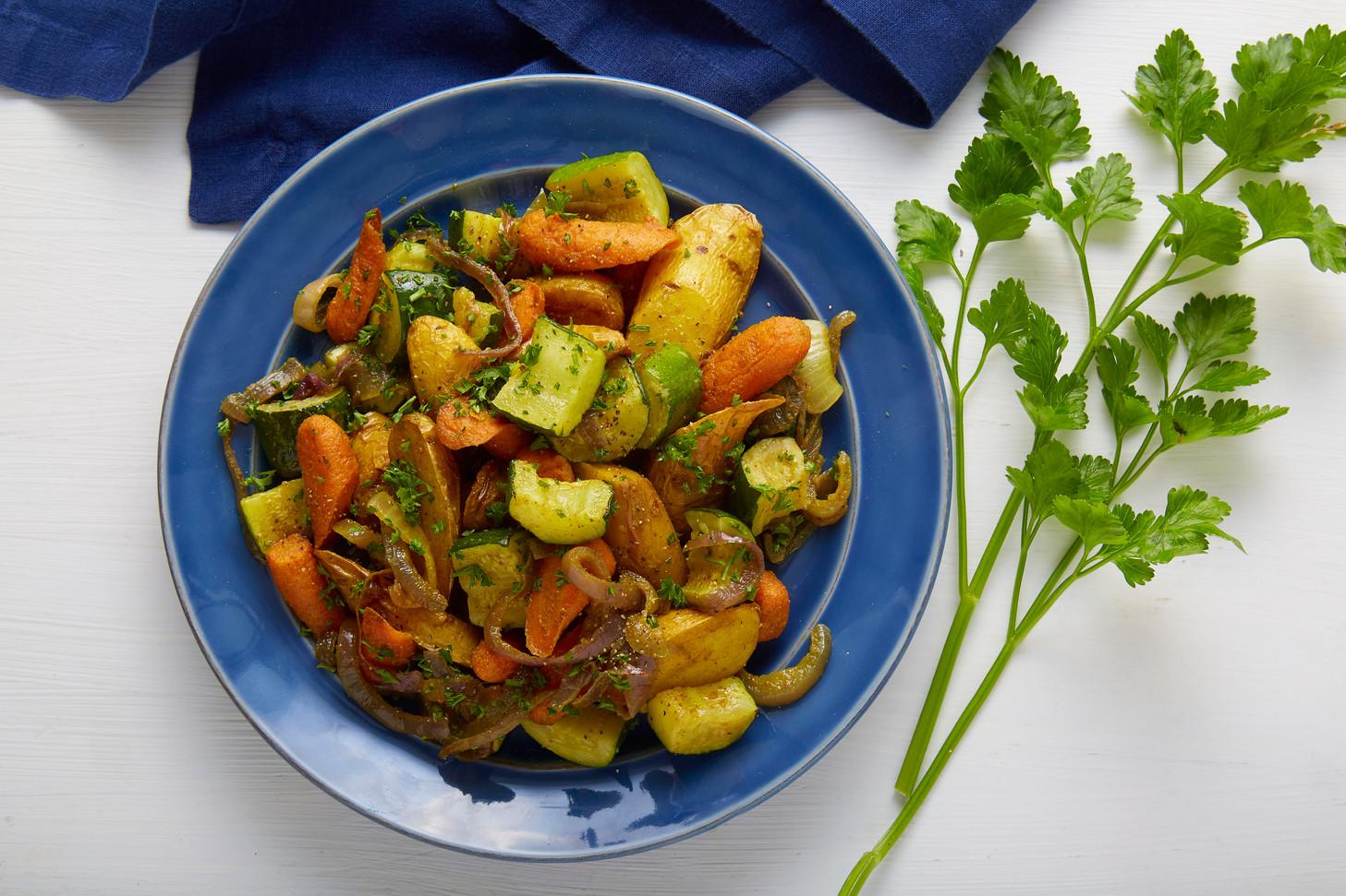 Vegetarian keema curry