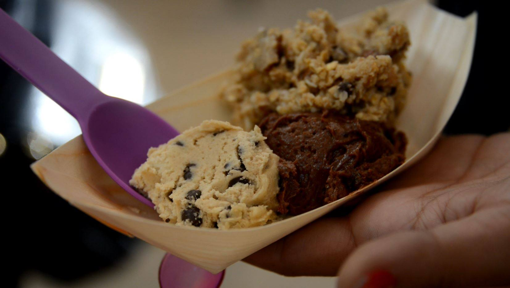 Scooped serves up cookie dough in North Star Mall
