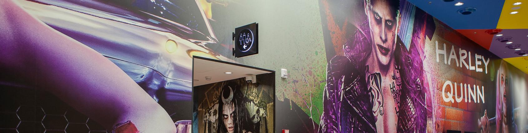 Main hallway B wall designleft