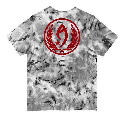 CAMISETA - RESPECT THE LOGO (TIE-DYE)