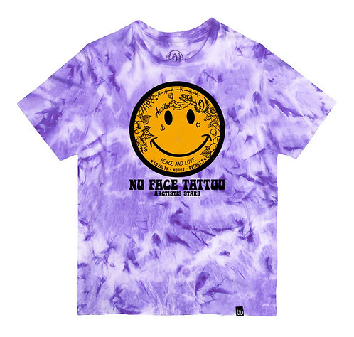 CAMISETA - NO FACE TATTOO (TIE-DYE)