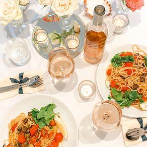 WINE & DINE: Provençal Pasta paired with Rosé