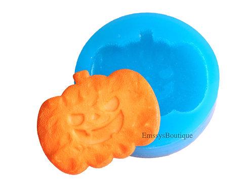 Pumpkin Silicone Mold (Jack-o-Lantern)