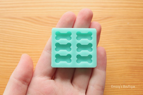 14x8mm Little Bones Silicone Mold