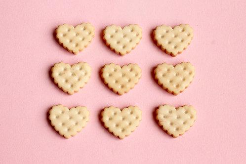 Heart Cracker Cabochons