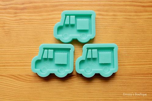 Food Trucks (Backed Shaker) Silicone Mold