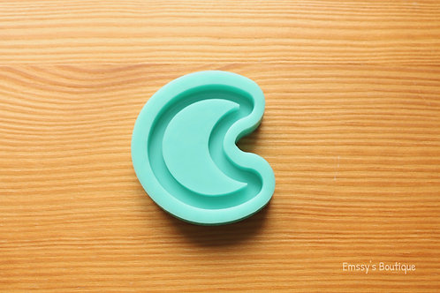 Small Moon (Backed Shaker) Silicone Mold