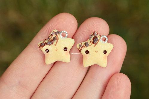 1pc Star Cookie Charm