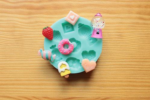 Kawaii Sweets Assorted Silicone Mold
