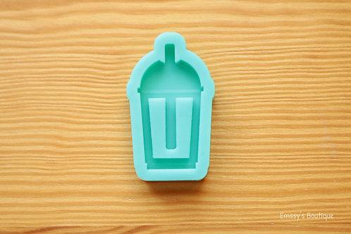Boba Tea w/ Straw (Backed Shaker) Silicone Mold