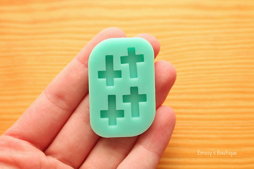 Tiny Cross Silicone Mold