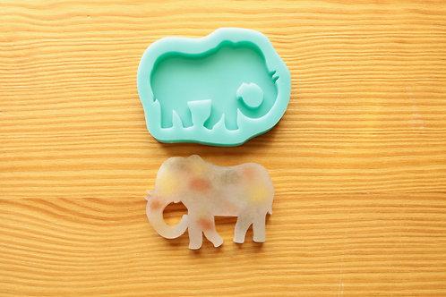 Elephant Silicone Mold