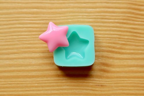 17mm Star Silicone Mold (Green)