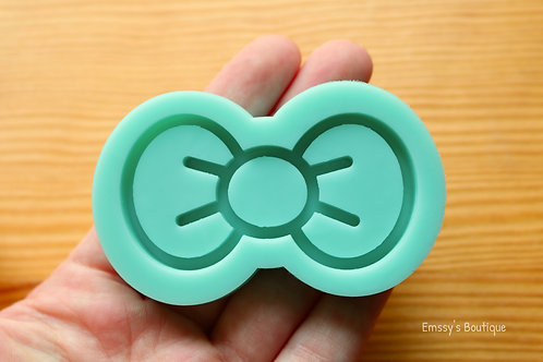 Kawaii Bow (Backed Shaker) Silicone Mold