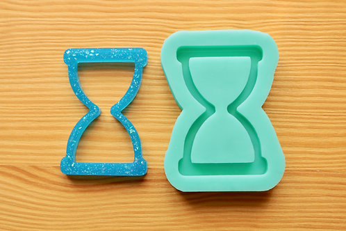2.5inch Hourglass Silicone Mold
