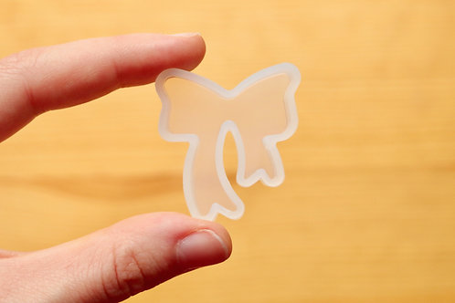 Clear Bow Silicone Mold
