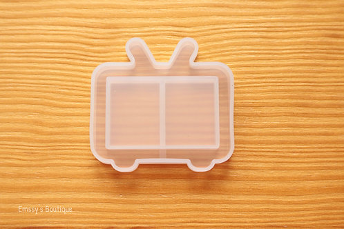 Clear Television Flexible Shaker Silicone Mold