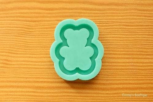 Gummy Bear (Backed Shaker) Silicone Mold