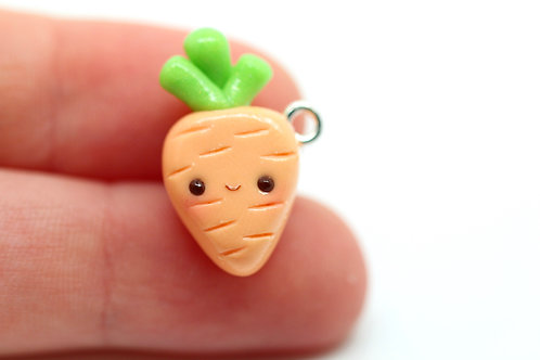 Carrot Charm (Kawaii)
