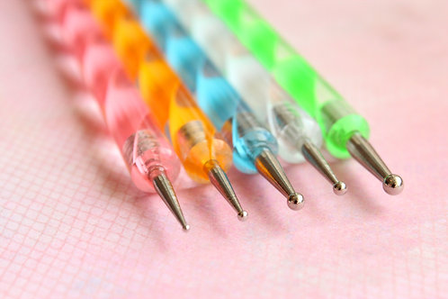 5 pc Dotting Tools (Double-Sided)