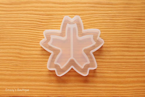 Clear Sakura Cherry Blossom Flexible Shaker Silicone Mold