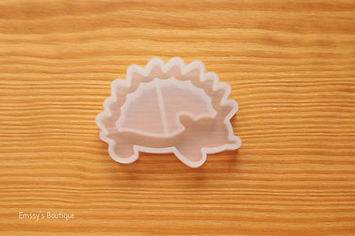 Clear Hedgehog Flexible Shaker Silicone Mold