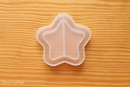 Clear Star Flexible Shaker Silicone Mold
