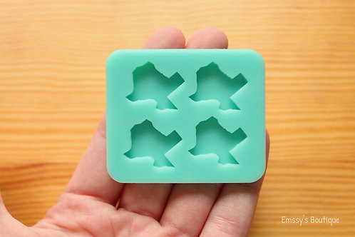 Small Texas State Silicone Mold
