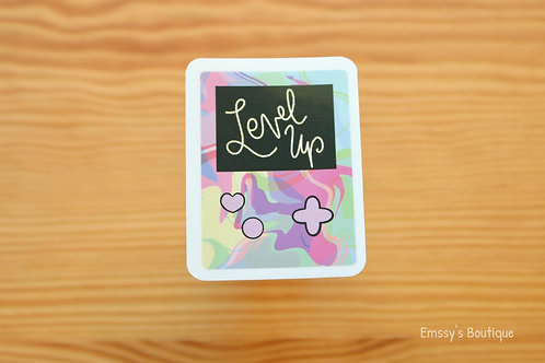 Kawaii Video Game Vinyl Sticker (Waterproof, Weatherproof)