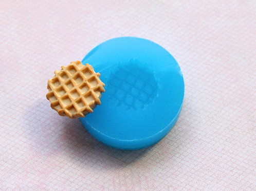 Round Waffle Mold (15 mm)