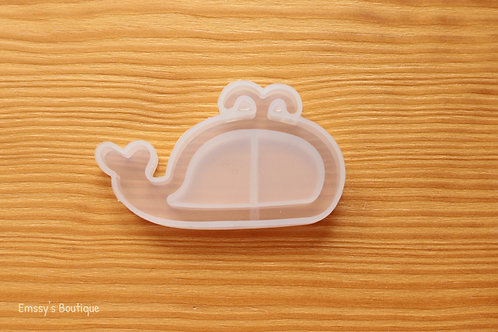 Clear Whale Flexible Shaker Silicone Mold