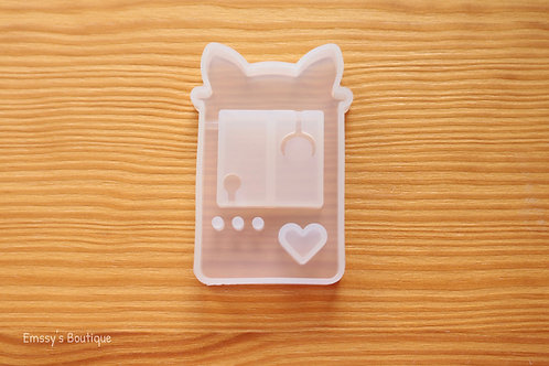 Clear Cat Claw Machine Flexible Shaker Silicone Mold