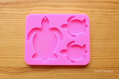 Turtle Charms Silicone Mold