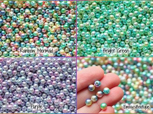 6 mm Kawaii Pastel Beads