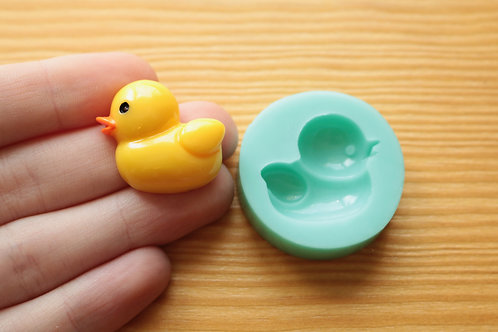Rubber Ducky #1 Silicone Mold (Green)