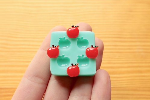 9mm Tiny Apples Silicone Mold (Green)