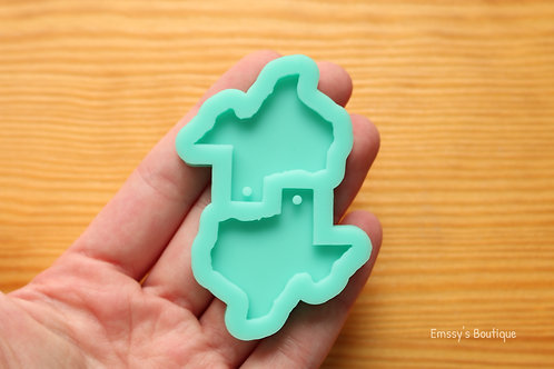 Texas State Charms Silicone Mold