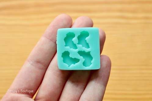 Tiny Africa Continent Silicone Mold