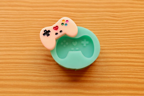 Kawaii Game Controller Silicone Mold (Green)