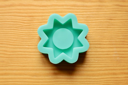 Sunshine (Backed Shaker) Silicone Mold