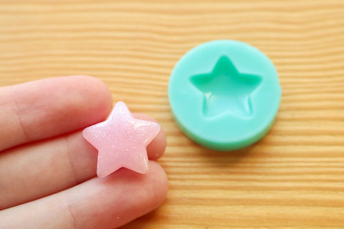 21mm Star Silicone Mold (Green)