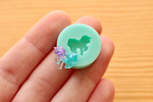 Tiny Unicorn Silicone Mold