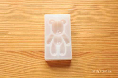 Clear Gummy Bear Silicone Mold