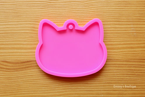 Cat Head Charm Silicone Mold