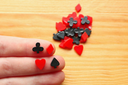 Tiny Playing Cards Cabochons