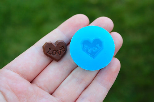 """Love"" Chocolate Silicone Mold"
