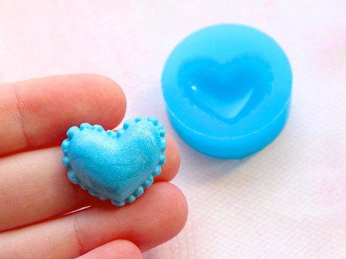 Heart Macaron Silicone Mold