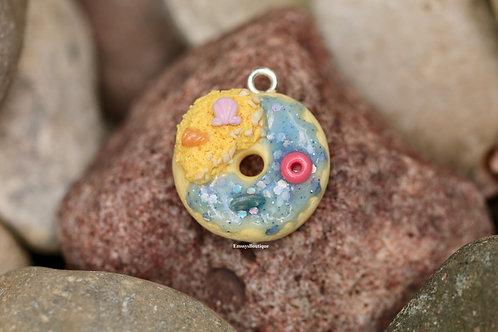 Mini Beach Donut Kawaii Charm