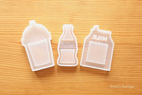 Clear Kawaii Food Shakers Silicone Mold